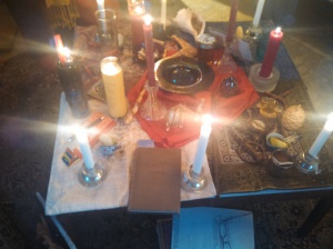 brigid altar 2
